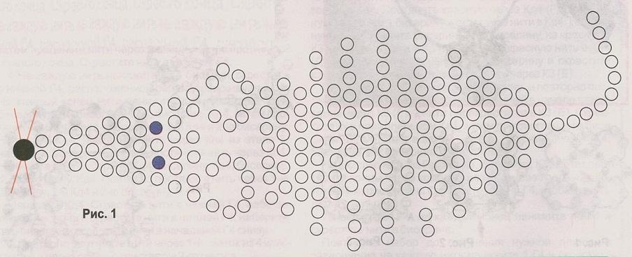 Схема для бисера печать