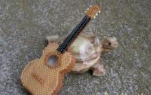 Схема гитары из бисера
