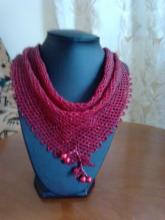 схема плетения из бисера косынки