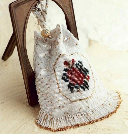 93b143540e64 Сумки ткачеством бисера Схемы плетения из бисера своими руками ...